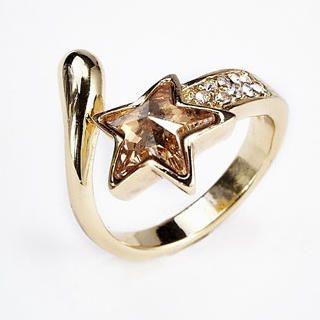 Moonbasa - Jeweled Star Ring