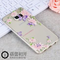 Kindtoy - Flower Print Samsung Galaxy S6 edge+ Case