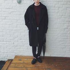 Dixon - Long Notch Lapel Coat