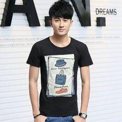 SOLER - Print Short-Sleeve T-shirt