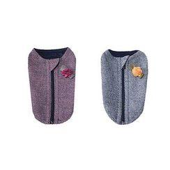 LIFE STORY - Pet Dog Brooch Tweed Vest Costume