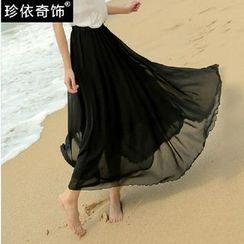Jenny's Couture - 雪紡皺紋長裙