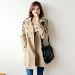 Envy Look - Double-Breasted Trench Coat
