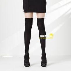 MITU - 假长筒袜裤