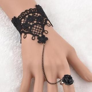 Trend Cool - Crochet Ring Bracelet