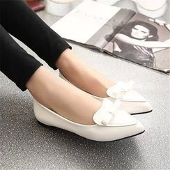 YIVIS - Bow Pointed Flats