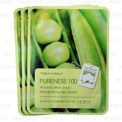 Tony Moly - Pure 100 Placenta Mask Sheet (Strengthening Skin Barrier)
