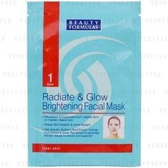 Beauty Formulas - Radiate and Glow Brightening Facial Mask
