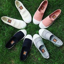 時尚麥樂 - 拼接輕便鞋