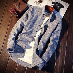 DTT - Check Long-Sleeve Shirt