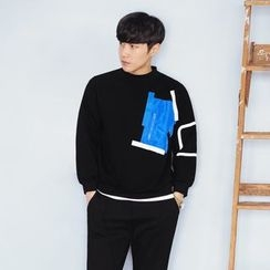 MEING - Paneled Pullover