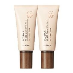 The Saem - Eco Soul CC & BB Cream SPF35 PA++ 50g
