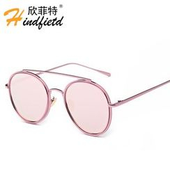Koon - Metal Brow Bar Aviator Sunglasses