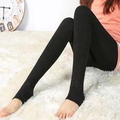ENZA - Plain Stirrup Leggings