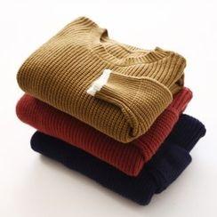 布丁坊 - 純色毛衣