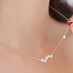 maxine - Rhinestone Star Necklace