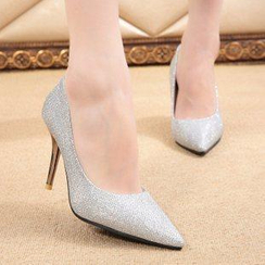 BAYO - Glitter Pointy Pumps