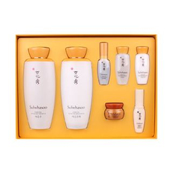 Sulwhasoo - Essential Balancing Set: Water 125ml + Emulsion 125ml + Essence 8ml + Cream 5ml + Luminature Essential Finisher 8ml