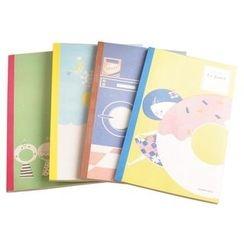 Bookuu - 印花笔记本(小)