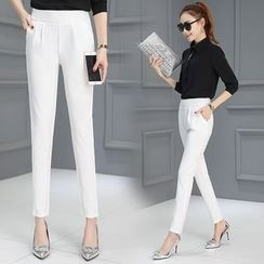 Ekim - Plain Slim Fit Pants