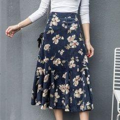 EFO - Printed A-Line Skirt