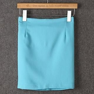 JVL - Zip-Side Pencil Skirt