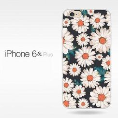 Kindtoy - iPhone 6 / 6 Plus Daisy Print Case