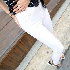 REDOPIN - Cotton Skinny Pants