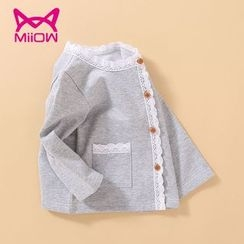 MiiOW - Kids Lace Trim Jacket