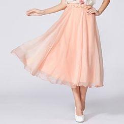 O.SA - Maxi Tulle Skirt