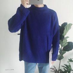 子俊 - 羅紋小高領毛衣