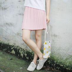 tete - 多褶短裙