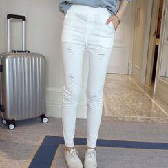 微米家 - 罗纹窄身长裤