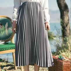 Sens Collection - Plain Pleated Skirt