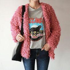 Seoul Fashion - Chunky-Knit Jacket