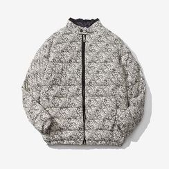 Blueforce - Paisley Print Padded Jacket