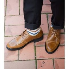 ABOKI - Lace-Up Oxfords