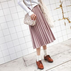 Deerie - 打褶裥中长裙