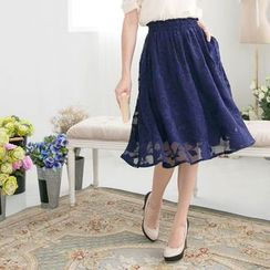 Tokyo Fashion - Jacquard Skirt
