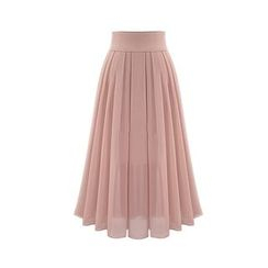 GRACI - Pleated Maxi Skirt