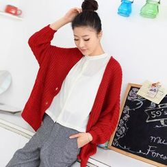 59 Seconds - Dolman-Sleeve Cardigan