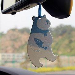 雲木良品 - 可愛小熊香氛片掛件