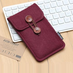 ACE COAT - Felt Mobile Phone Pouch - iPhone 6s / iPhone 6s Plus