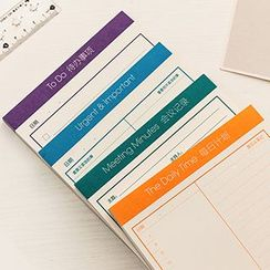 Show Home - Planner / Checklist / Schedule Memo Pad (S)