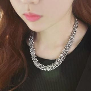 soo n soo - Beads Bold Necklace