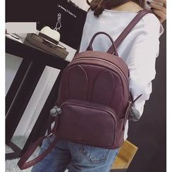 Youshine - Rabbit Ear Faux Leather Backpack