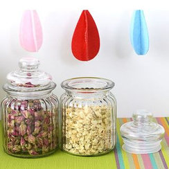 Good Living - Glass Storage Bottle