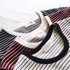 Bonbon - Striped Long-Sleeve Tunic