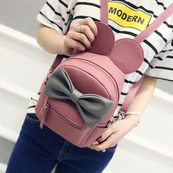 Bam's - Mouse Ear Bow Mini Backpack