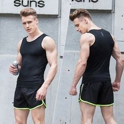 Accentum - Sports Set: Tank Top + Shorts